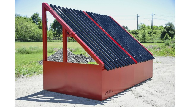 Pitbull grizzly screen offers economical option for sorting oversize material