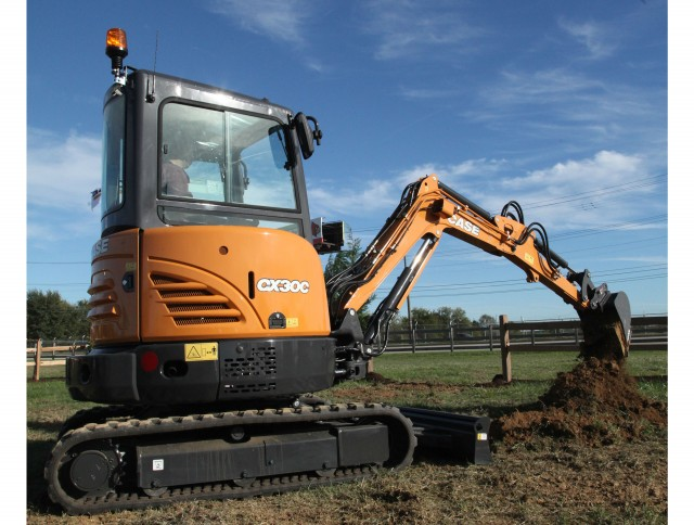 Case expands mini excavator lineup with new CX30C
