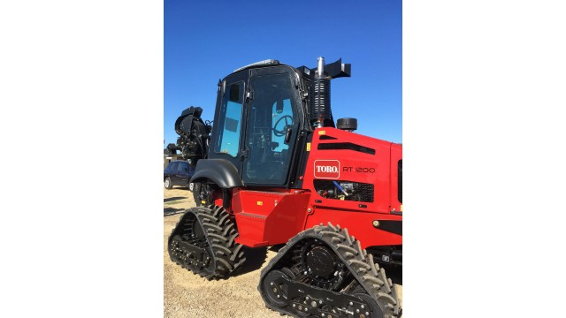 Optional cab assembly for Toro trencher