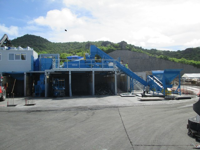 Andela Products equips St. Barthélemy to recycle used glass
