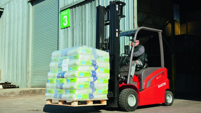 Ten electric and four internal combustion industrial forklift models