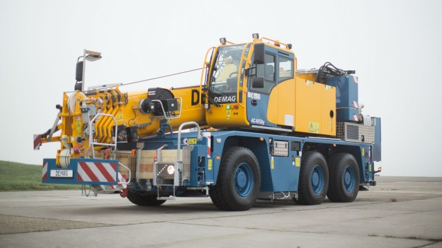 Demag launches City class crane to fit tight job sites