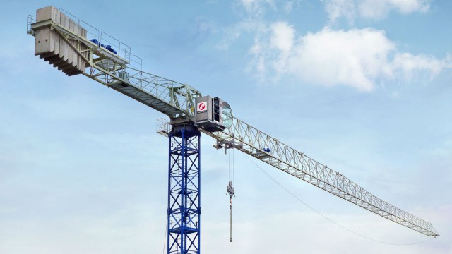 Raimondi MRT234 flattop tower crane features innovative design