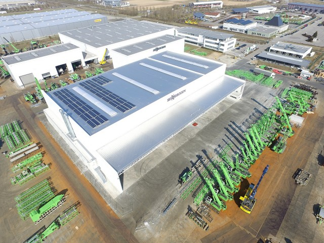 Coinciding with the company's 65th anniversary, SENNEBOGEN has inaugurated a 375,000 sq. ft. (35,000 sq. m) expansion at its Straubing 2 plant in Lower Bavaria, Germany.