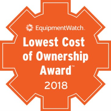 Winners of EquipmentWatch Lowest Cost of Ownership Awards announced