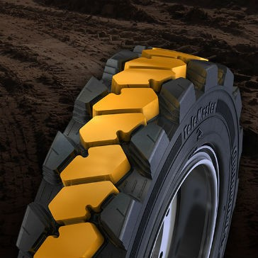 JLG and Continental team to offer telehandler tire