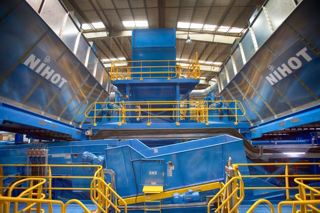BHS Mixed Waste system makes Bee'ah MRF largest and most advanced in region