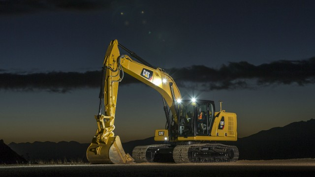 Caterpillar Introduces Three Next Generation Excavators