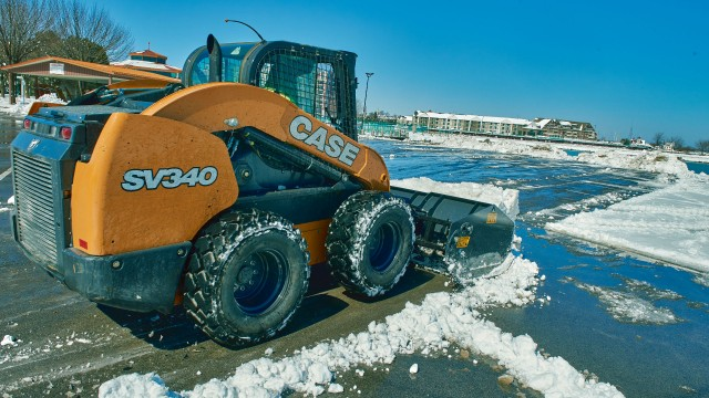 Snow fight: skid steers vs. compact track loaders