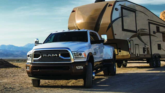 Torque and towing are top of mind with the new 2018 Ram 3500, designed to handle heavy trailer loads with ease