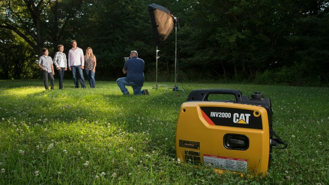 Cat introduces first inverter generator: the INV2000