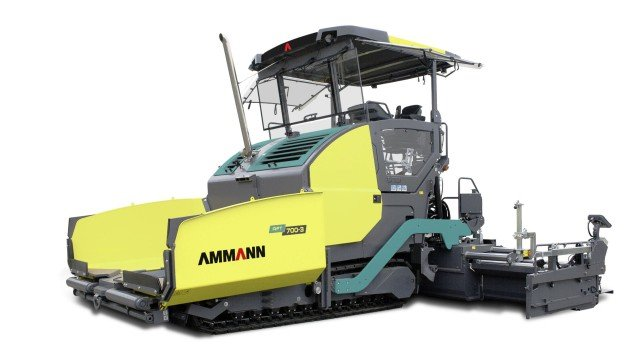 Technologically advanced asphalt paver line