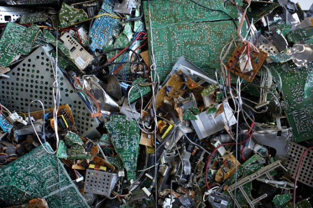 Discarded minerals in e-waste worth $65 billion in 2016