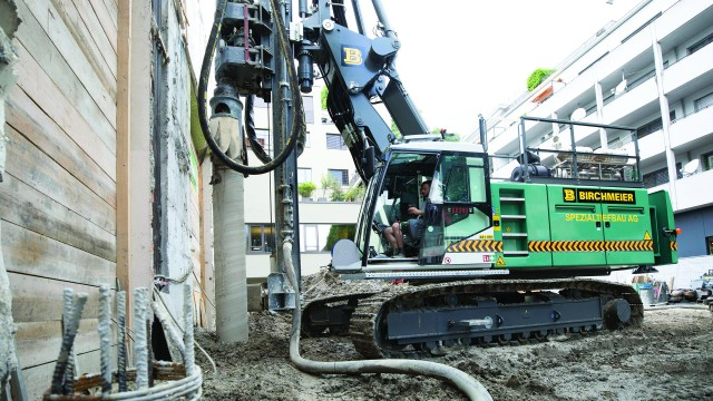 Liebherr LRB 16 piling and drilling rig