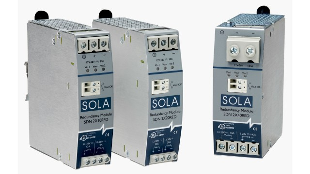 Redundancy modules protect against critical power failures