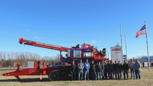 Terex Utilities ships A330 Auger Drill to Antarctica for scientific research
