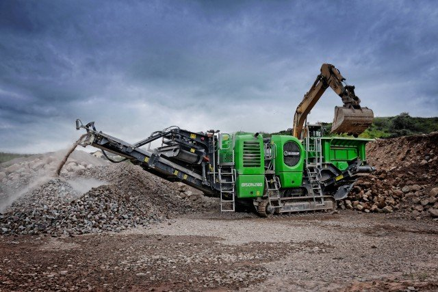 EvoQuip launches BISON 280 compact crusher