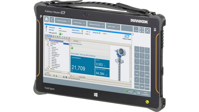 Endress+Hauser launches rugged tablet PC