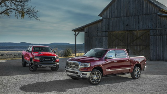 2019 Ram 1500 Rebel and Ram 1500 Limited.