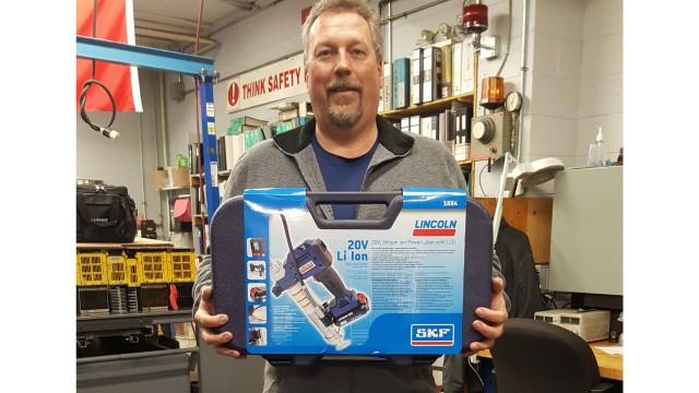 Thomas Steckel, of Guelph, ON, was the third and final winner of Flo Components' 40th Anniversary giveaway.