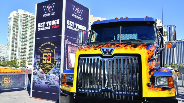 "Western Star will hold their ""Get Tough Challenge"" in the Bronze Lot."