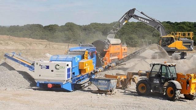 The Strobe ECS 1500 mobile unit on the job.