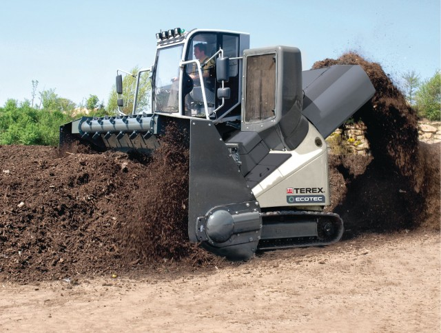 Terex Ecotec's TWT 500 Windrow Turner.