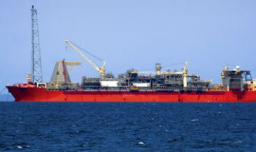 The SeaRose FPSO. Photo courtesy Husky Energy