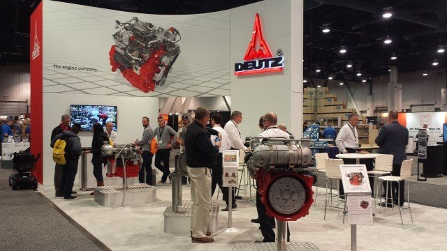 Deutz will have a number of engines on display for World of Concrete.