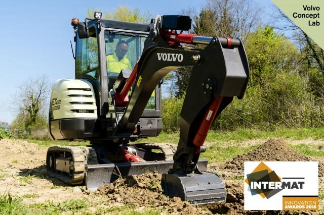 Volvo Construction Equipment's fully electric compact excavator prototype wins Intermat ...
