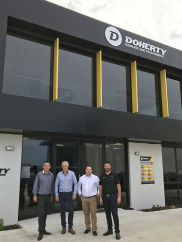 Kinshofer acquires New Zealand attachment manufacturer Doherty Group