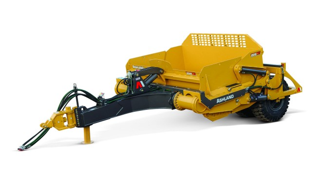 Ashland's 2012CS scraper is useful for mining, construction or agriculture markets.