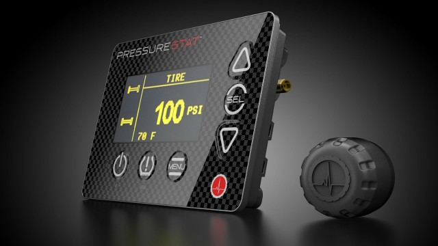 Bridgestone's newly released PressureStat tire pressure management system is easy to install and use.