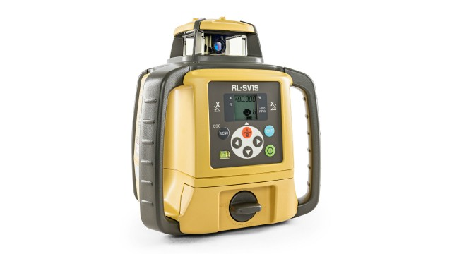 Topcon adds rotating laser for single slope applications