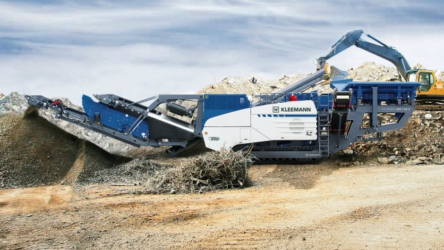 The Kleemann MR 130 Zi EVO2 impact crusher.