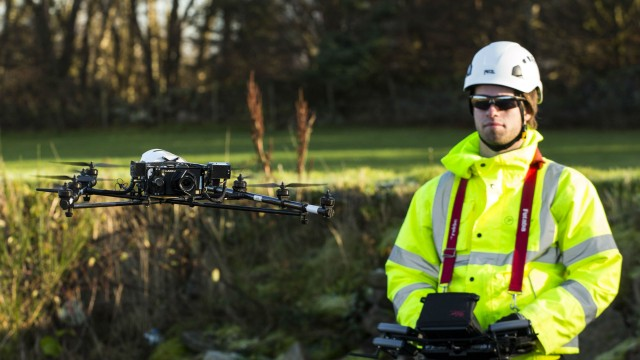 Cyberhawk to develop first drone industrial training syllabus in UK