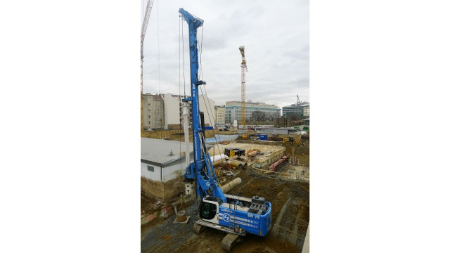 Volvo Penta Stage V engine solutions will be made available on the Soilmec SR-75 drill.