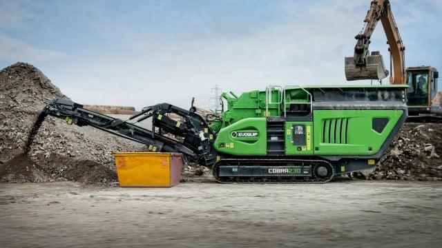 EvoQuip shows new Cobra 230 impact crusher at World of Asphalt