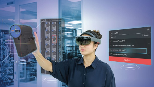 Honeywell offers mixed-reality simulation for plant personnel training