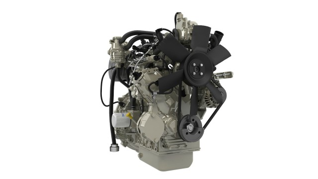 Perkins will highlight their Syncro 1.7- and 2.2-litre compact engines.