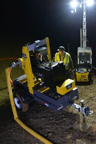 Atlas Copco PAS pumps make first appearance at The Rental Show