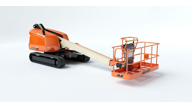 JLG 400SC crawler boom lift  Delivers maximum traction and floatation