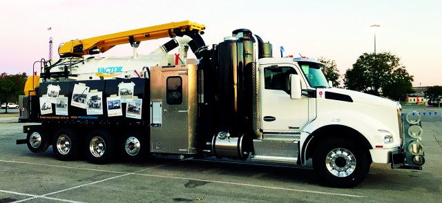 Revised weight regulations in Ontario behind the design of new vacuum excavator truck