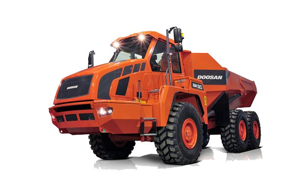 Closer Look: Doosan DA30-5 and DA40-5 articulated trucks