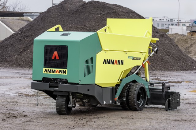 Mini Paver from Ammann able to pave as narrow as 250 mm