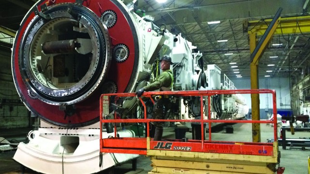 Veteran Robbins TBM plays a Main Role in Ending Residential Flooding