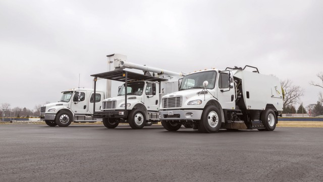 Freightliner Trucks featuring  vocational, medium-duty and alternative-fuel solutions at 2018 Work Truck Show