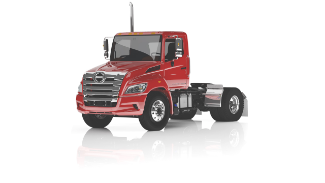 The Hino XL Series will be offered in a host of straight truck and tractor configurations ranging from a GVWR of 33,000 to 60,000 pounds and GCWR up to 66,000 pounds with max performance of 360 hp and 1,150 lb.-ft. torque.