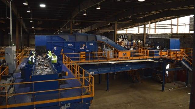 Machinex' latest MRF installation, High Point, North Carolina.