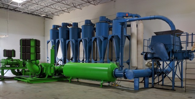 Dryclone Air Drying System converts wet organics, waste and MRF Residuals into SRF